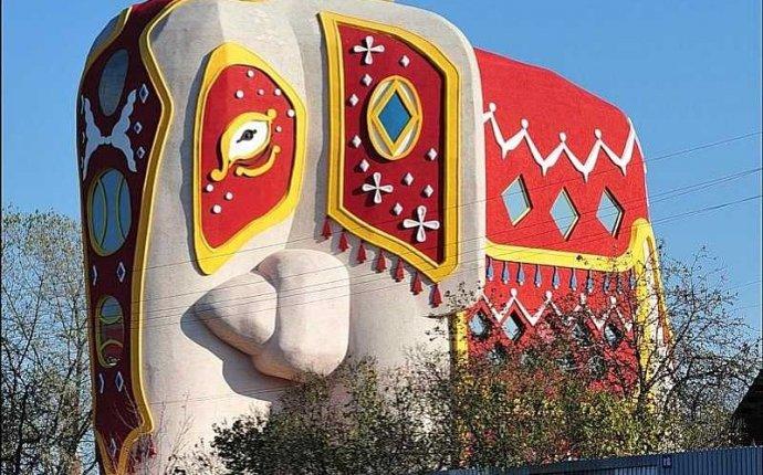 Дом в виде слона на Новорязанском шоссе в подмосковье | Дом и