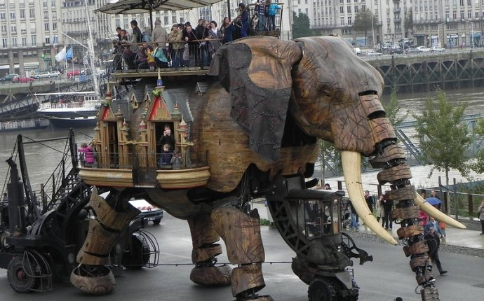 Великий слон проекта Машины Нанта - Интересно знать